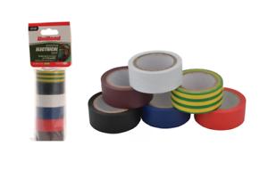 Unibond Isolation Électrique Bande 19 Mm X 3.5 M-pack De 6 Couleurs-afficher Le Titre D'origine