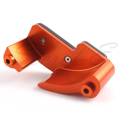 Left Engine Case Cover Guard Slider Protection For KTM Duke 1290 1190 RC8 Orange