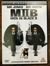 Will Smith Tommy Lee Jones MEN IN BLACK II ~ 2002 Sci-Fi Comedy  | 2-Disc UK DVD