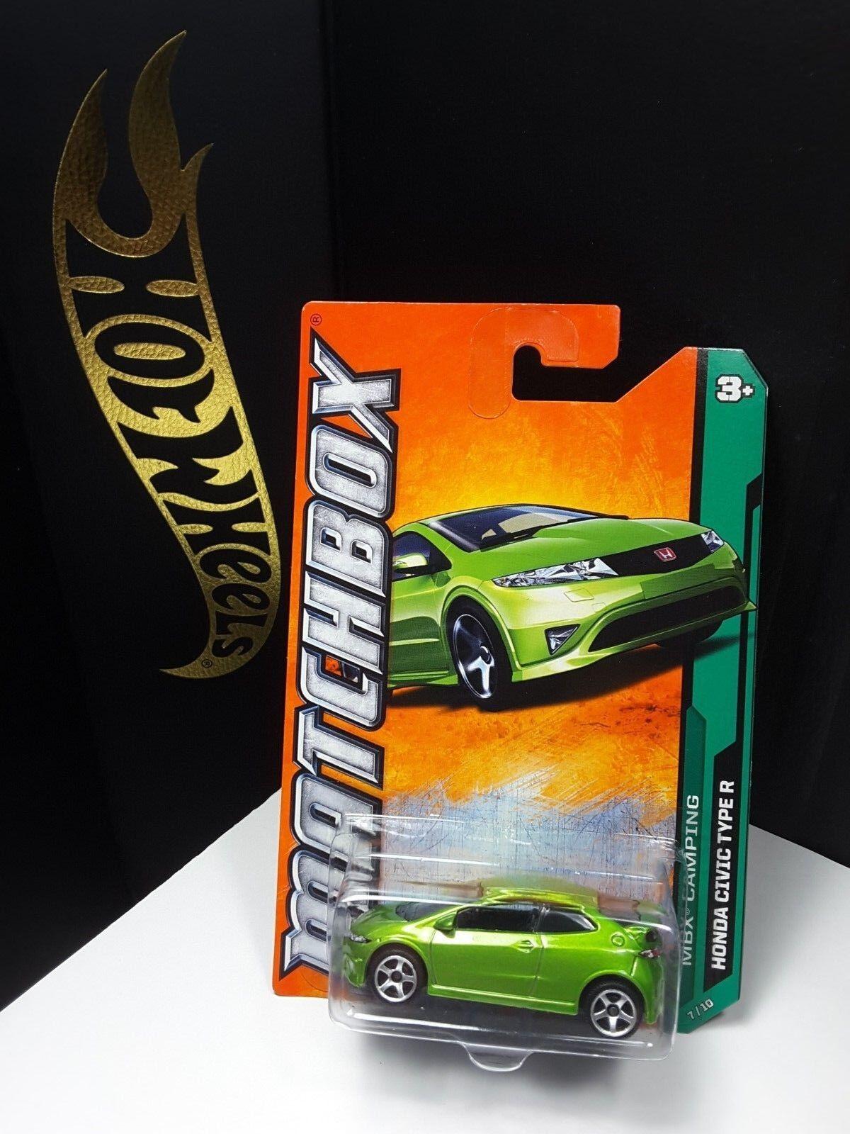 2011 MATCHBOX GREEN HONDA CIVIC TYPE R
