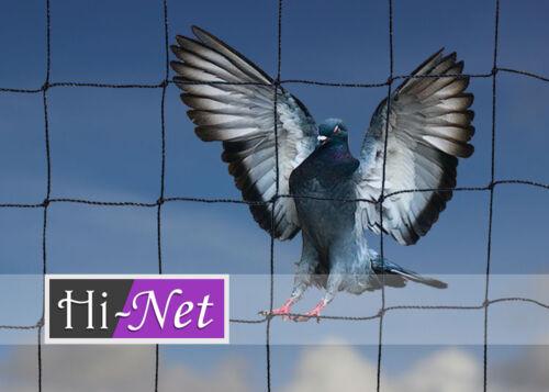 Jardin anti oiseau filet Heavy Duty Filet Fort PIGEON CHAT Run MAILLE 50 MM 20 x 20 m