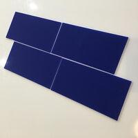 Rectangular Acrylic Wall Tiles - Blue
