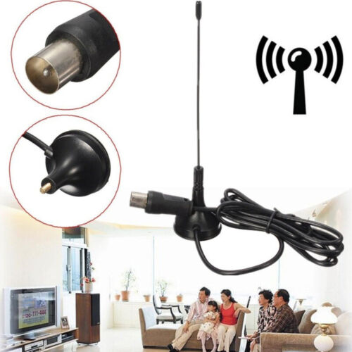 Aerial Amplified 50 Miles Range VHF UHF Indoor Digital 1080P HDTV TV Antenna