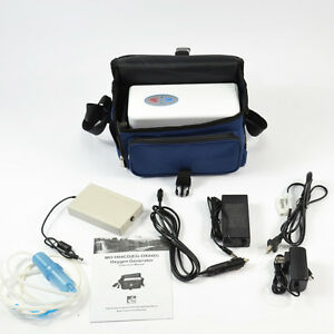 GENUINE-EGET-PORTABLE-OXYGEN-CONCENTRATOR-GENERATOR-WITH-BATTERY-HOME-TRAVEL-CAR