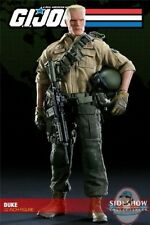 """1/6 Scale GI Joe 12"""" Deluxe Duke Sideshow Collectibles Used Jc"""