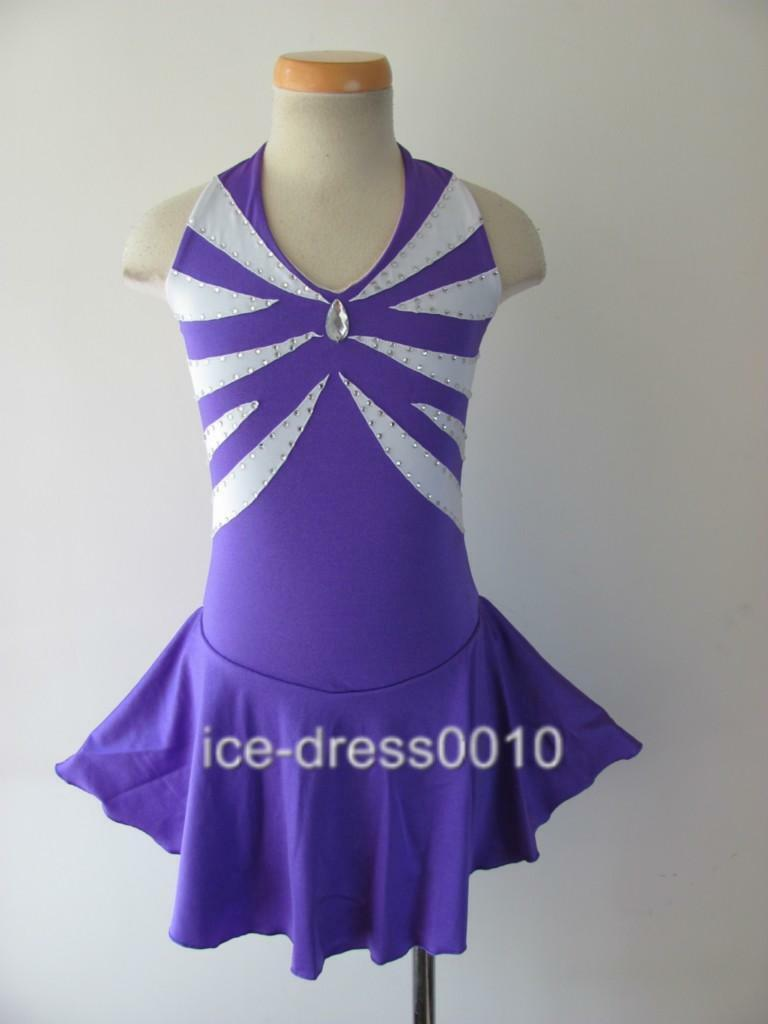 2018 new style Figure Skating Competition Dress Ice Skating Dress 5527-8 size 12