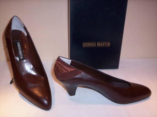 Scarpe decoltè decolletè classiche Martin donna tacchi pelle eleganti 37,5