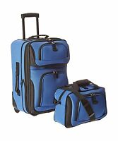 U.s Traveler Rio Carry-on Lightweight Expandable Rolling Luggag... Free Shipping