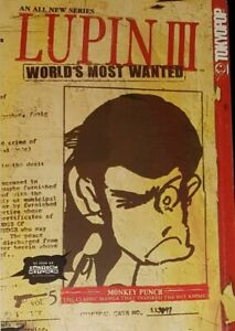 LUPIN-III-WORLD-039-S-MOST-WANTED-VOLUME-5-Tokyopop-USA-2005-Manga-TP-SC-GN