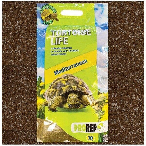 Pro Rep Reptile Tortoise Life Vivarium Substrate Soil Bedding Flooring 10 Litre