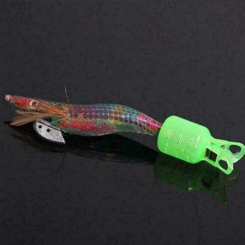 Details about  /10Pc Cover Basket Squid Jig Hook Cover Cofishing Protection Type Crowns N3C1
