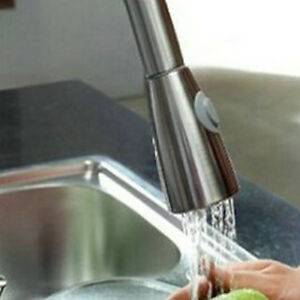 Image Is Loading Nickel Kitchen Faucet Spray Spout Replaced Moloc Mixer