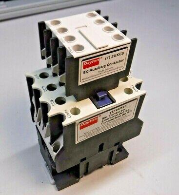 120VAC Dayton 6EAX4 Contactor IEC 25A 1NO 3P