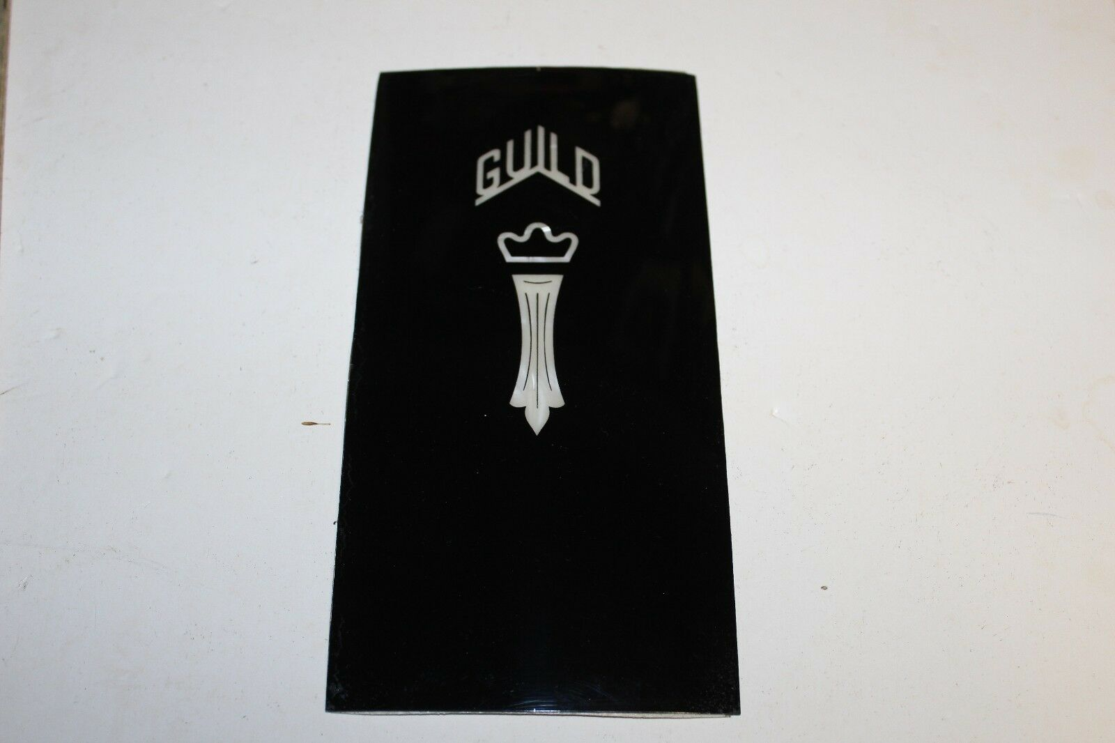 Guild Guitar Chesterfield Headplate, Vintage Westerly, NOS