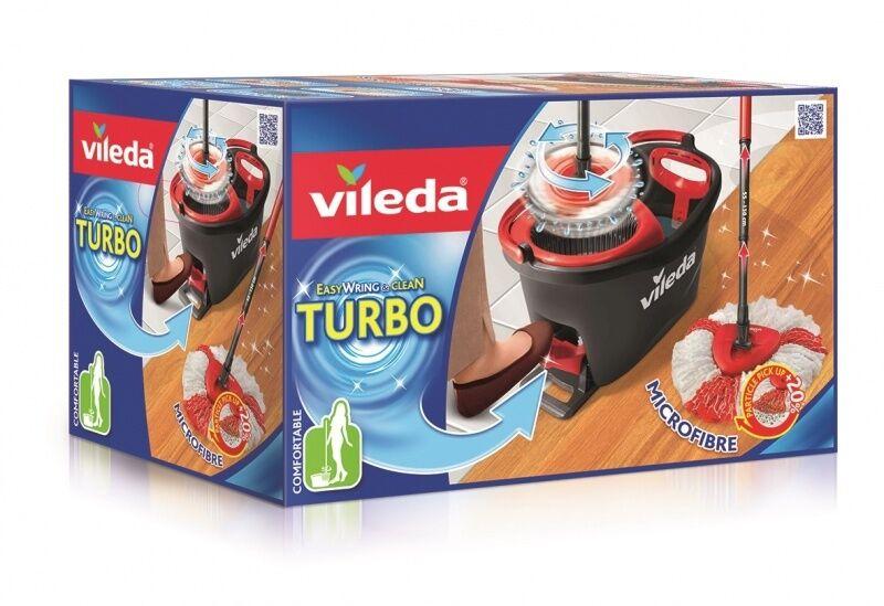 2 stk. Vileda EasyWring & Clean TURBO Komplett-Set 100 % ORYGINAL