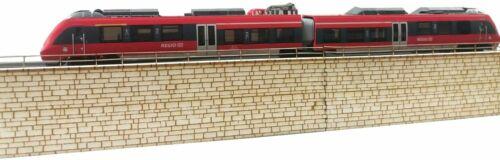 retaining wall H0 New. A/&S Projekt 393 Kit