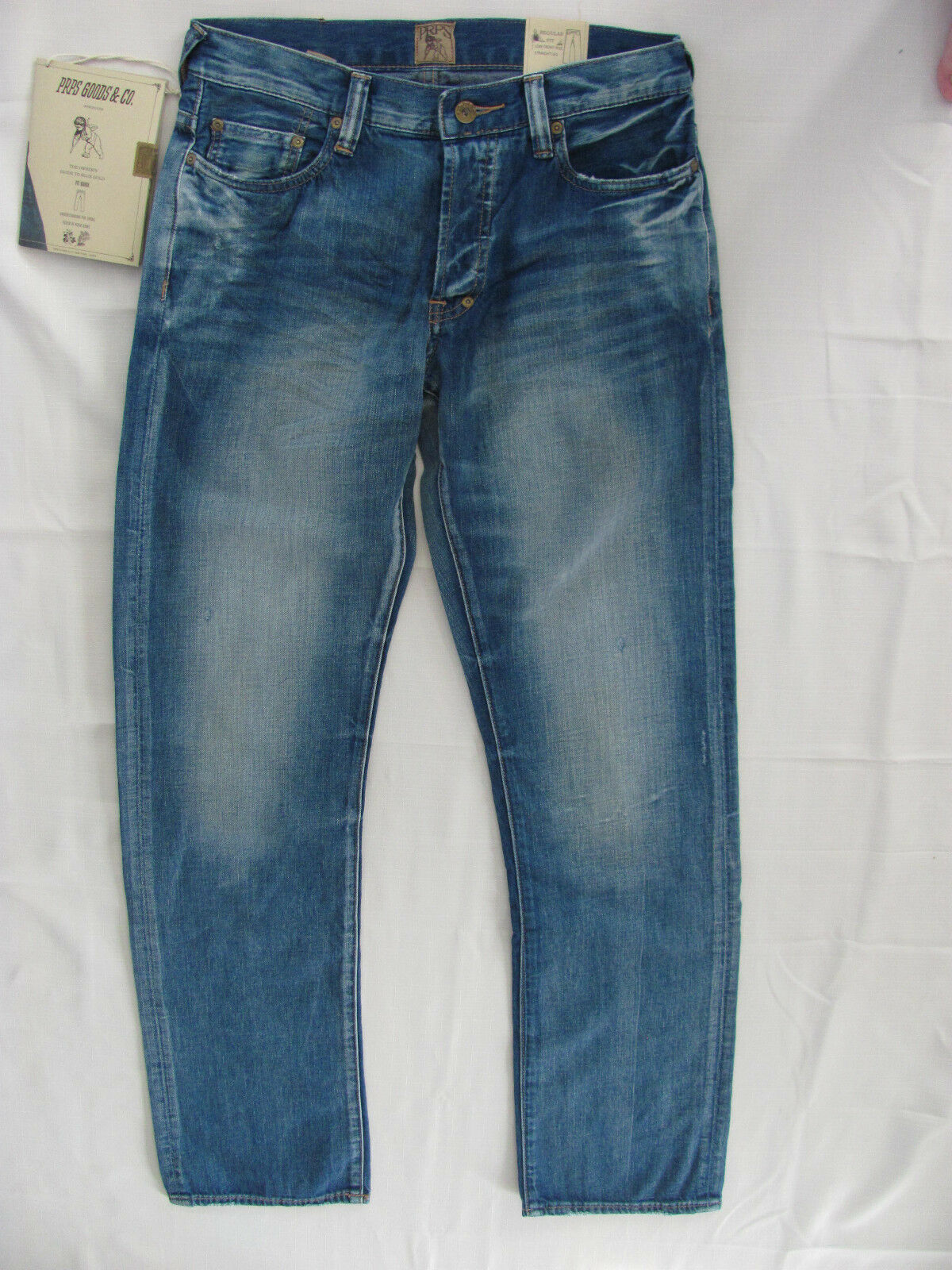 4a6fd1a622 PRPS Goods Barracuda Regular Fit E67P71X color- LGB Jeans Straight- Size 30