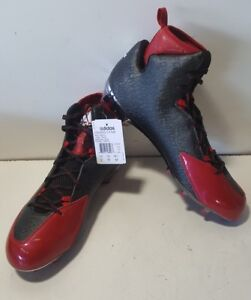 competitive price bf216 c95fe Image is loading NEW-Adidas-Crazyquick-2-0-High-NCAA-Black-