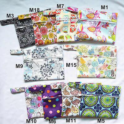 3 U PICK Mini Wet Bags Waterproof Reusable for Mama Cloth Menstrual Pad Tampon