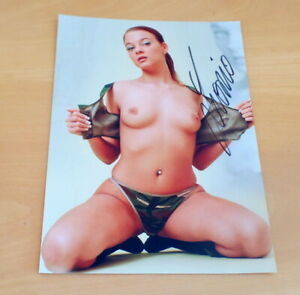 S7-Leonie-Saint-Erotik-Porno-Venus-Original-Firmado-Photo-20x25-cm-8x10