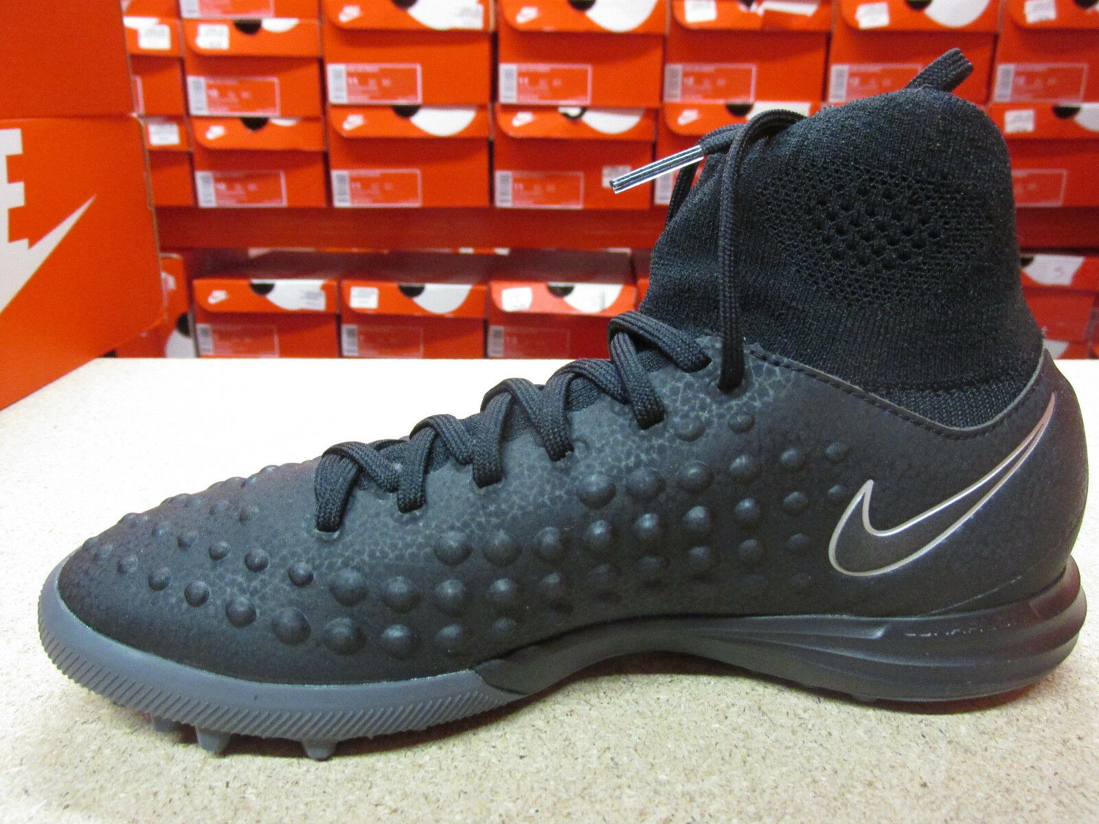 Nike Junior MagistaX Proximo II TF Football Bottes chaussures 843956 009 Soccer  chaussures Bottes e4de4c