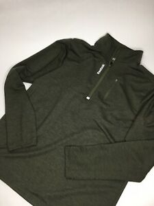 Men's Reebok Quarter Zip Pullover •Size