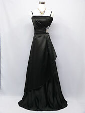 Cherlone Plus Size Black Ballgown Wedding Evening Bridesmaid Formal Dress 18