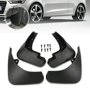 for 2007 2013 audi a3 sportback hatchback mud flap splash guard rh ebay com Mud Flaps Audi A6 Audi TTS with Mud Flaps