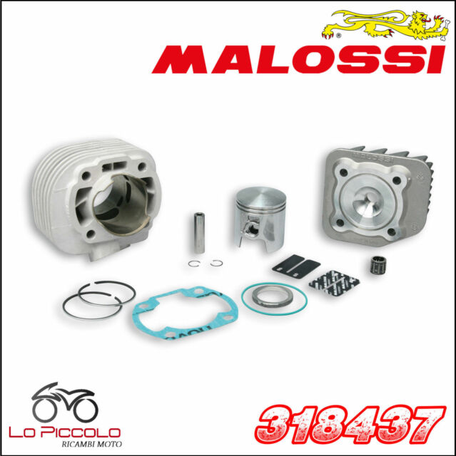 318437 Malossi Grupo Térmico MHR Réplica Ø47 Dinli Helix DL603 50 2T (06A53)