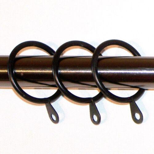 28//19mm Double Graphite Nickel Noir Tringle à Rideau Trophée Embouts 1.2 M 1.5 m 2.4 M