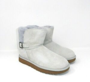 Ankle Classic Grey New 7us in Box In scamosciata Ugg Karel Violet pelle Boots wRBTq