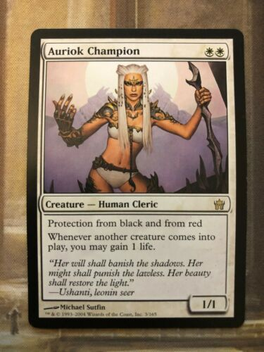 Auriok Champion 1x x1 LP MTG Fifth Dawn EDH Modern