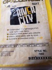 River City Challenger 700 Series Protective Suit Yellow 5xl 2 Piece Suit