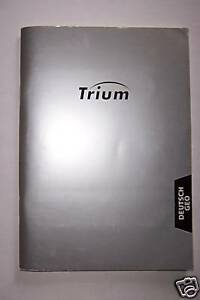 Bedienungsanleitung Trium Geo