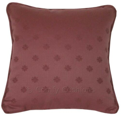 "1 x 16 /""x 16/"" LAURA ASHLEY /""humble Daisy/"" raisin tissu coussin couverture"