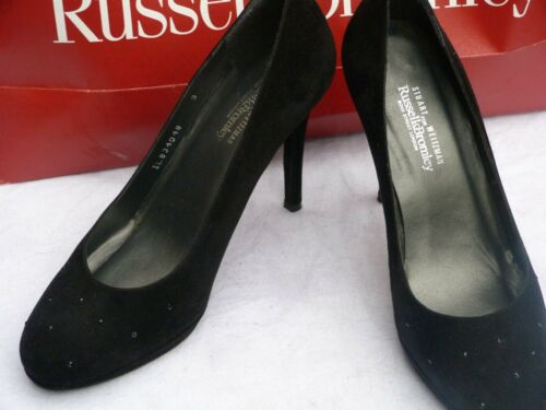 Russell&Bromley women's shoes size UK7/40/black/swarowsky/RRP£255/USA/Designer
