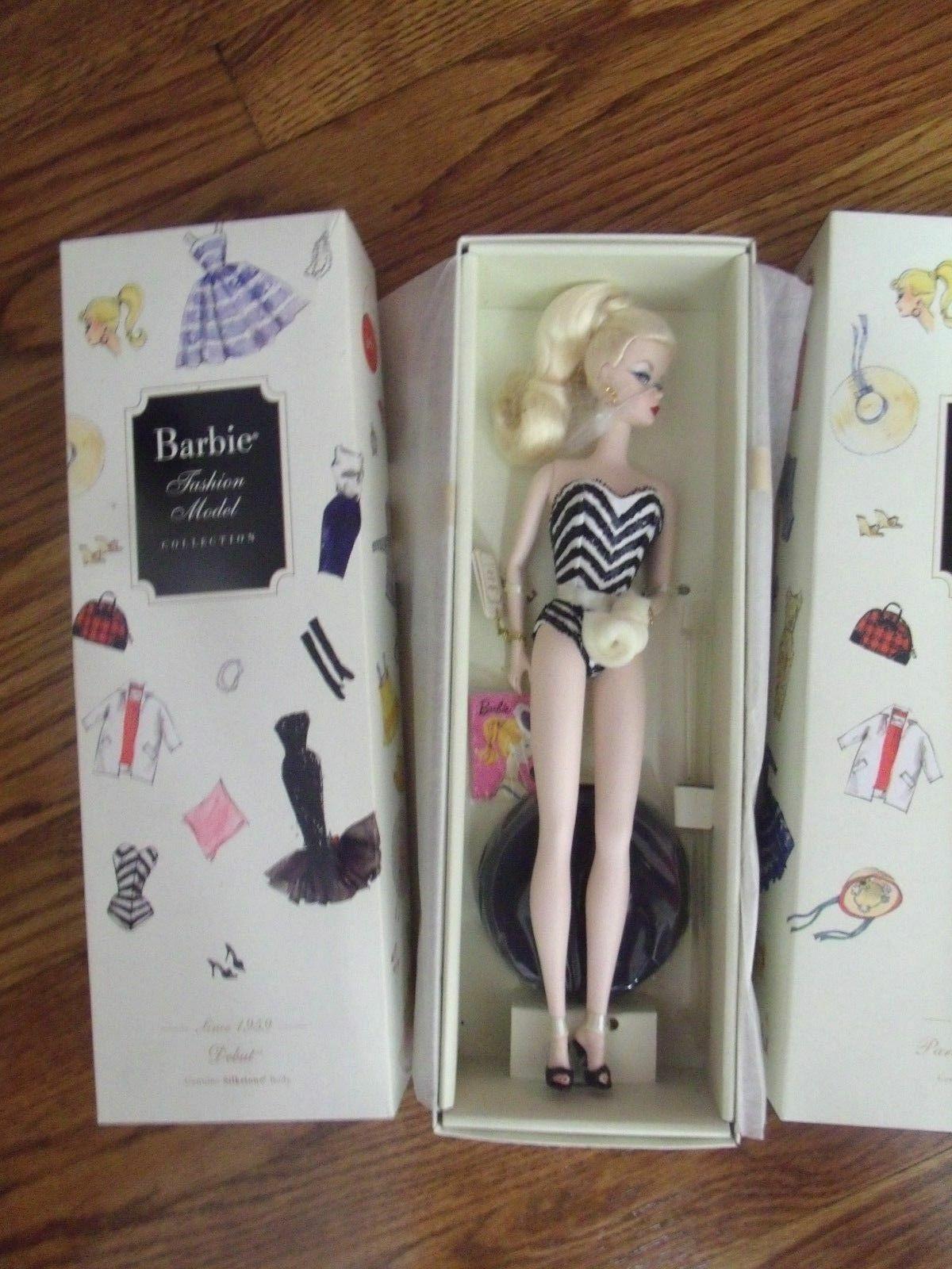 Muñeca Barbie Modelo de Moda Vintage 50th aniversario COLECCIÓN  RARA