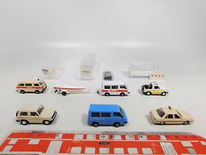 CN327-0,5# 6x Rietze/RM H0/1:87 Mitsubishi: 80200/50028 DLRG+Taxi+NZZ etc, NEUW