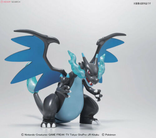 Bandai Pokemon M36 Charizard X Plastic Model  Kit Action Figures Toys