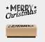 East-of-India-Christmas-Tree-Small-Rubber-Stamps-Merry-Xmas-Craft-Nadolig-Llawen thumbnail 2