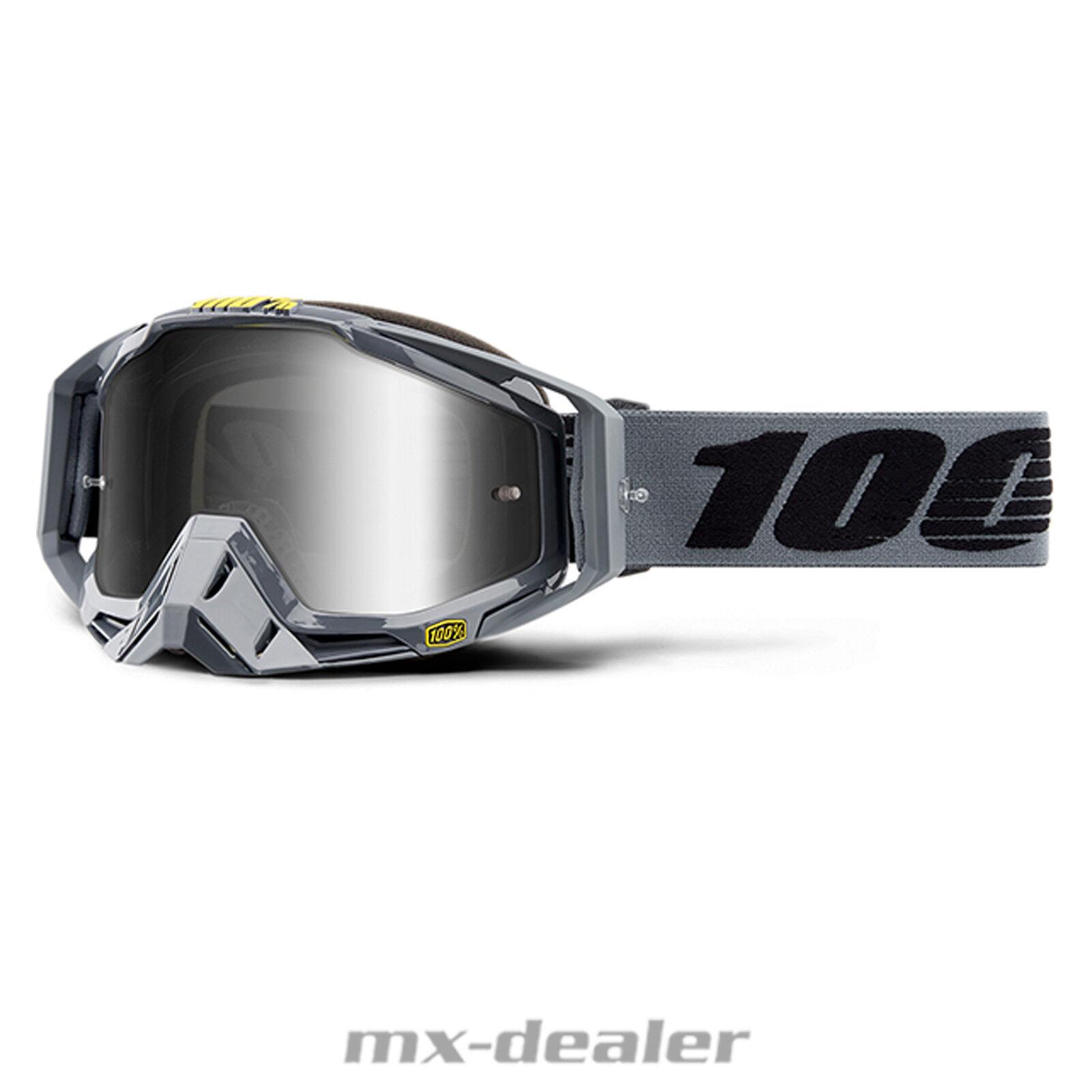2019 100 % Racecraft Extra Extra Extra verspiegelt Brille Motocross Enduro MTB BMX Cross DH f75680