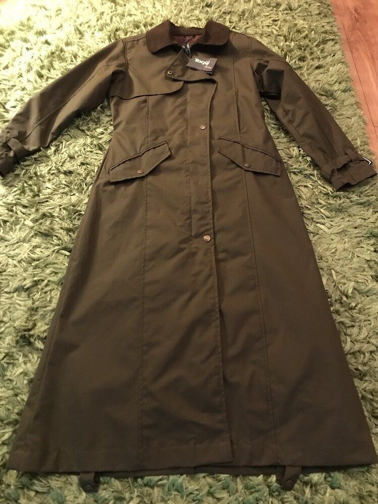 Ladies Toggi Coat Moss Green Small Brand New