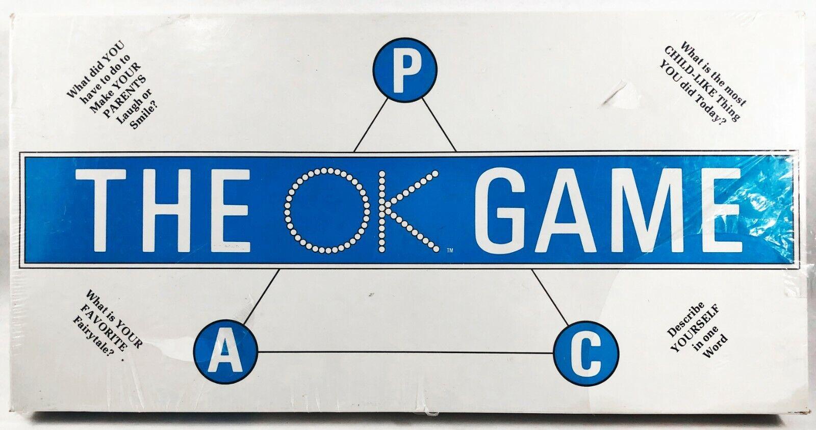 The OK gioco 1974 Simco Mental Health Therapy Counseling  Self Esteem RARE SEALED  alta qualità genuina