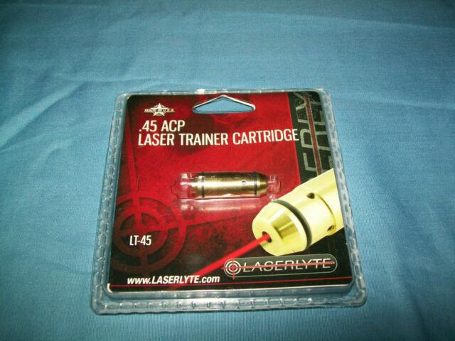 Laserlyte Laser Trainer  45 ACP Cartridge