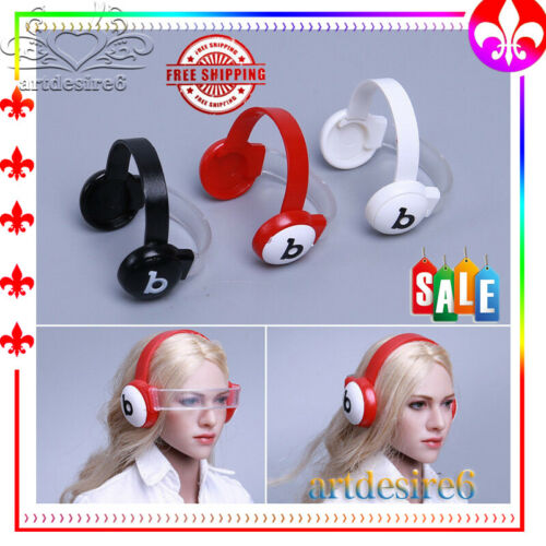 HOT FIGURE TOYS 1//6 Female Goggles Removable Best Headset Model accessories