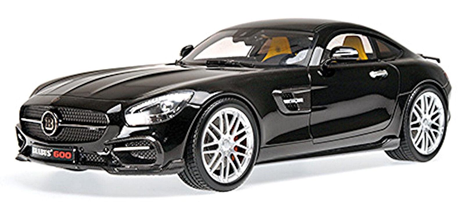 negozi al dettaglio Braautobus 600 Coupè 2015 su Base Mercedes AMG AMG AMG Gt S NERO Nero 1 18 Minichamps  negozio online