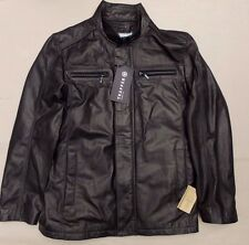 TRAPPER LAMB LEATHER MENS JACKET>BNWT>£285+>GENUINE>BLACK>BIKER>COAT>50>NAPPA