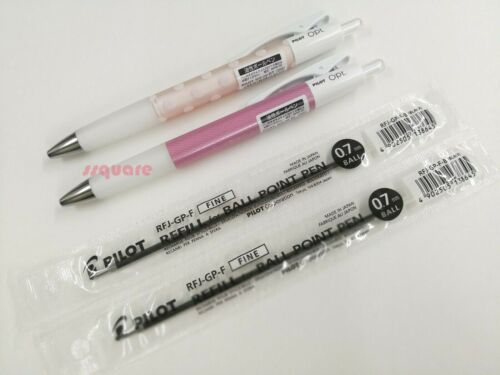 BOP-20F 0.7mm Oil Based Ballpoint pen w// Black ink LM Pilot Opt 2 Refills