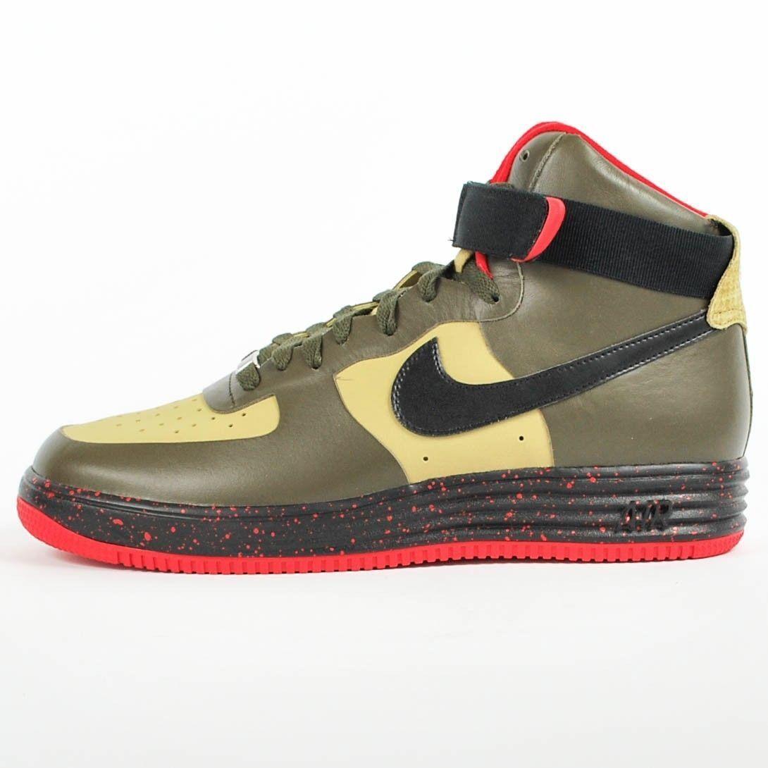 New Men's Nike Lunar Force 1 High Premium Shoes (616767-700)  Men US 8 / Eur 41
