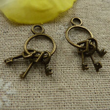 Free Ship 500Pcs Antique Bronze Star Charms Pendant 13x10mm